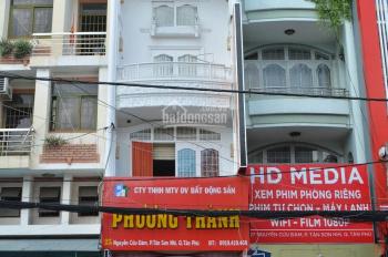 Cho thuê nhà MT Nguyễn Cửu Đàm, 4x20m, 3 lầu, 5PN, nhà đẹp, 25 tr/tháng