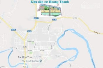 Bán đất nền trung tâm Kon Tum, 160m2 (8x20m) đường 16m, thổ cư 100%