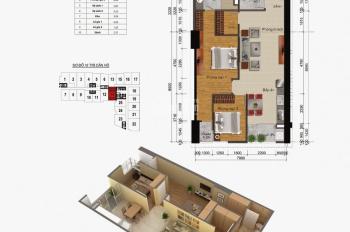 Mình có căn hộ 83.8m2 chỉ 1 tỷ 340 triệu cần bán gấp tại tòa A Gemek Tower, An Khánh, Hoài Đức