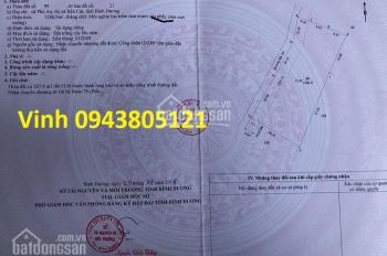 Bán đất vườn xã Phú An, Bến Cát, Bình Dương 1286.9m2 lâu năm 2049, 0943805121