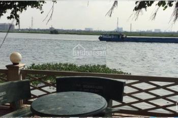 Bán khu đất ven sông Sài Gòn kinh doanh dịch vụ hoặc nghỉ dưỡng tại An Phú Đông, Quận 12
