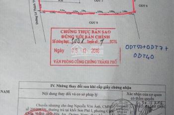Bán nhanh lô đất mặt tiền đường Lê Thánh Tông, Cẩm Châu, TP Hội An, phù hợp xây villa
