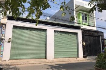 Bán nhà+xưởng 12x18m mặt tiền kinh doanh buôn bán, đường nhựa đẹp 8m, Xuân Thới Thượng, Hóc Môn