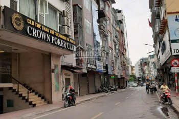 Cần bán nhà mặt phố An Trạch, kinh doanh, Đống Đa, DT: 120m2 9T, MT: 14m, giá 42 tỷ, ĐT 0966708268