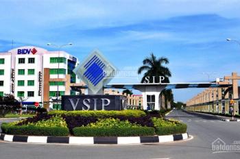 Đất VSIP 1 đã có sổ riêng từng nền, DT 60m2-70m2 ngay vòng xoay An Phú, thị xã Thuận An