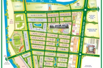 Bán đất mặt tiền đường D1, KDC Him Lam Kênh Tẻ, phường Tân Hưng, Quận 7, DT: 100m2, giá: 210tr/m2