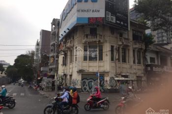 Cho thuê nhà góc 2 mặt tiền lớn đường Calmette - Trần Hưng Đạo, P. Nguyễn Thái Bình, Quận 1