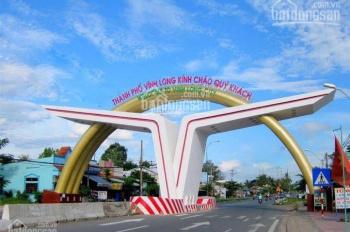 Bán đất nền sổ đỏ, thổ cư 100% trung tâm thành phố Vĩnh Long giá chỉ 850tr/ nền. LH 0902355943
