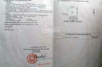 Chính chủ gửi bán mảnh đất thôn Sơn Hào, trục đường liên đảo Minh Châu - Quan Lạn, Vân Đồn