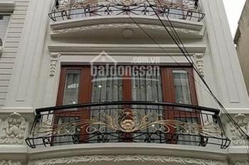 Cần cho thuê nhà ngõ 5 Phạm Thận Duật, lô góc, 65m2, 5,5 tầng thông sàn, giá 33 tr/th, 0968120493