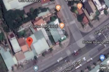 Mặt tiền kinh doanh Phạm Ngọc Thạch, DT 110m2 , vị trí gần KDC Hiệp Thành 1 và BV 512