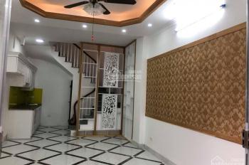 Bán nhà đường Nguyễn Khoái, 30m2, 4 tầng xây mới, ô tô đỗ sát nhà