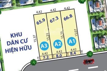 Bán gấp đất thổ cư 67,3m2 (4,2 x 16m) mặt tiền đường 12B Nguyễn Văn Tăng