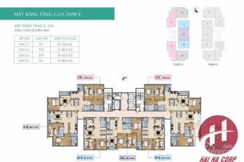Tôi chính chủ bán chung cư Xuân Phương Tasco căn 1006, tòa E DT 86.4m2, 20.5tr/m2, LH 0966225461