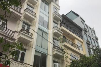 Cho thuê tòa nhà khu đô thị Trung Yên, 110m2 x 7T, MT 7.5m, thông sàn