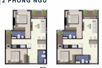 Bán căn hộ Q7 Sai Gon Riverside diện tích 2 phòng ngủ, view hồ bơi quận 7 giá 2.2 tỷ