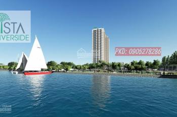 Lương 10 triệu nên mua căn hộ Vista Riverside, view sông SG xanh mát, LH Mr Xuân Thắng 0905.278.286