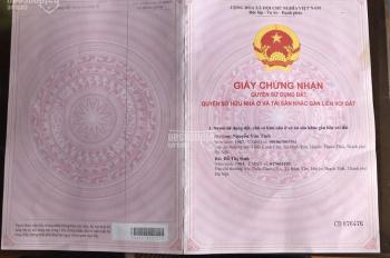 Bán đất Đồng Cam, Thạch Thất: 0941739999