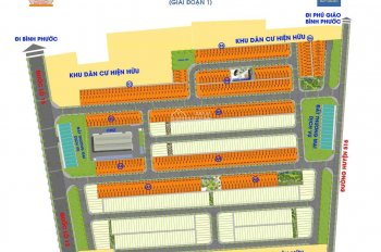 Mở bán đất nền Đức Phát 2 chỉ 7-8 triệu/m2. LH 0902 9567 34 xem dự án