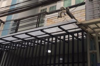Bán nhà P16, Q8 sổ hồng riêng, đường Phú Định, 3.7m x 11m trệt 1 lầu, LH: 0981446467