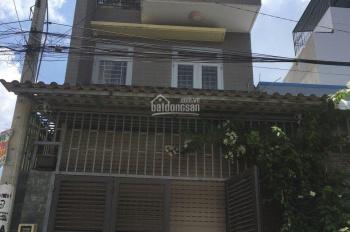 Nhà phố DT 4x15.5m, 1 trệt 2 lầu đường Thạnh Lộc 37, phường Thạnh Lộc, Q12