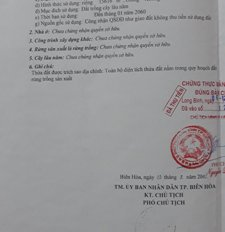 Chính chủ cần bán 2 lô đất đường Phan Đăng Lưu, Long Bình, Biên Hòa, Đồng Nai