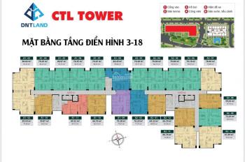 Căn hộ CTL Tower tham lương, căn hộ hot nhất trong năm 2019. LH: 0906604043