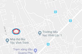 Gia đình kẹt tiền cần bán gấp đất ấp 1, Vĩnh Lộc A. xây dựng ngay. LH: 0983777543