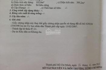 Bán nhà số 48 đường Số 6 (KDC Khang An), Phú Hữu, Quận 9, DT 149.3m2, giá 8,6 tỷ