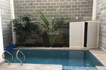 Bán nhà Kiều Đàm ngay Him Lam Kênh Tẻ 3 lầu có hồ bơi trong nhà, sổ hồng 2019
