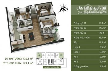 Gia đình cần bán gấp căn hộ số 08 tòa N03T2 Taseco