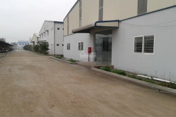 Cho thuê 1000m2, 3000m2 và 8000m2 kho xưởng lô 2 KCN Minh Đức - Mỹ Hào - Hưng Yên (cạnh Quốc Lộ 5)