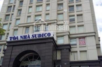 Cho thuê văn phòng tòa nhà HH3 Sudico, Mỹ Đình Sông Đà, Nam Từ Liêm, 86m2, 250m2, 400m2