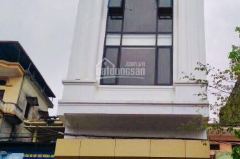 Cho thuê nhà mới mặt phố Hòa Mã, 100m2 x 6 tầng, MT 5m, thang máy, giá thuê 85 tr/tháng