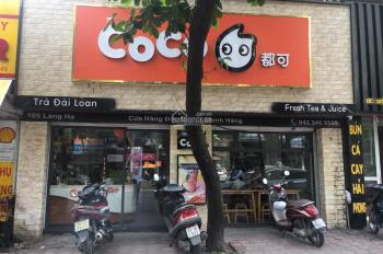 Cho thuê nhà mặt phố Bà Triệu gần Vincom 35m2 x 3 tầng, MT 6m, riêng biệt, giá 69tr/th