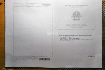 Bán đất nền Hưng Lợi, Ninh Kiều, Cần Thơ, giá 1.98 tỷ - DT gần 99m2. Chính chủ