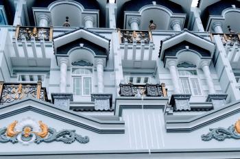 Bán nhà xây mới Bến Phú Định, P. 16, Q. 8, 4x20m, 4 tầng, SHR, giá 4.69 tỷ, tặng gói nội thất 200tr