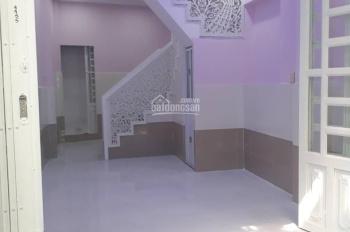 Bán nhà hẻm 56 Bùi Minh Trực, P. 5, Q. 8, nhà mới 2 lầu giả, DT 3.2x7m sổ hồng, 2.39 tỷ TL