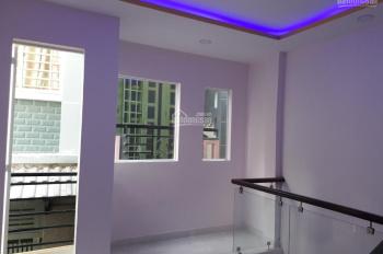 Bán nhà hẻm chợ BMT P5 Q8 nhà mới 1 trệt 2 lầu giả, DT 3,8x3,8m, giá yêu thương 1,85 tỷ, SHR