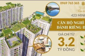 Mở bán những căn hộ đẹp nhất tại dự án vào ngày 19/04, CK đến 4%, LS 0%, quà tặng 85tr. 0969765365