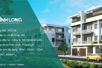 Cơ hội sở hữu 100m2 đất nền đã có sổ đỏ TP Vĩnh Long Property X, CK 3 - 18%: 0938599586 - Ms Hồng