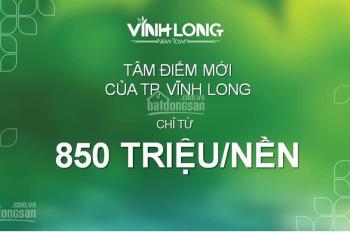 Cơ hội sở hữu 100m2 đất nền đã có sổ đỏ tP Vĩnh Long Property X, CK 3-18%: 0938599586-Ms Hồng