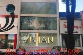 Bán nhà hẻm 7m Nguyễn Thị Minh Khai, gần Võ Văn Tần, Quận 3, DT: 6x30m. GPXD hầm, lửng 6 lầu