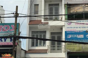 Bán nhà mặt tiền đường Nguyễn Cửu Đàm, 4mx18m, giá: 12.5tỷ, 1 trệt, 2 lầu, ST. P Tân Sơn Nhì