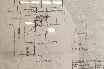 Bán nhà đường 53. DT: 3,5x12m giá 1 trệt 1 lửng, SH, Hiệp Bình Chánh, TĐ LH: 0908284781 -0908016419
