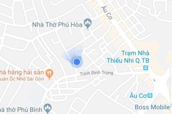 Nhà Tân Phú 155m2, nhà cấp 4, hẻm xe hơi