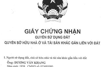 Cực hot! Hàng kín, độc quyền, nhà mặt tiền đường Nguyễn Văn Lượng