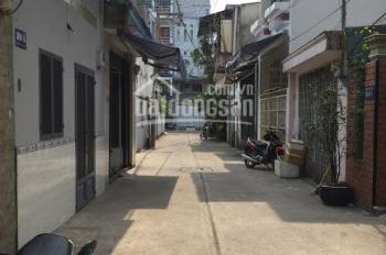 Bán nhà hẻm 6m thẳng Dương Văn Dương, P Tân Quý, Q Tân Phú, gần Aeon. DT 4m x 14m, 1 lầu