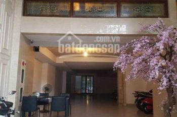 Cho thuê nhà mặt phố Lê Văn Hưu ngay ngã ba: 88m2 x 7 tầng thông sàn, mặt tiền 10m. 0906216061