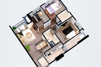 Bán căn hộ 3PN 2 tỉ gần trung tâm Mỹ Đình, đầy đủ nội thất,có hỗ trợ ngân hàng 70% LH 0888999819